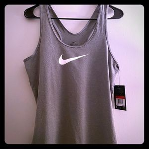 Nike Dry Fit Grey Tank Top